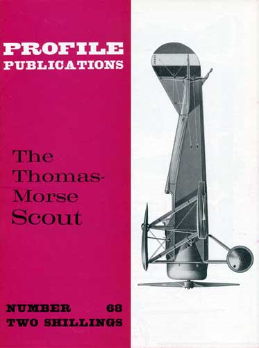 Profile Publications No. 068: Thomas-Morse Scout - cover thumbnail