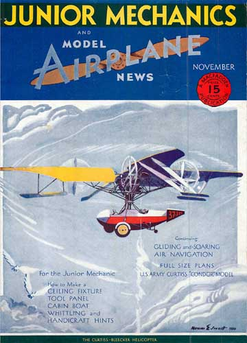 Junior Mechanics & Model Airplane News 1930/11 (RCL#2057)