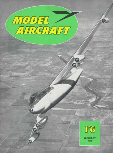 Model Aircraft 1956/01 January - cover thumbnail