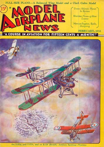 Model Airplane News 1932/02 February (RCL#2071)