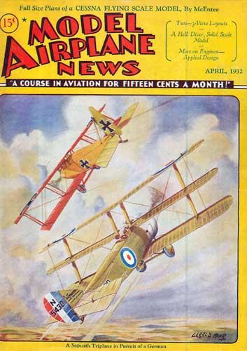Model Airplane News 1932/04 April (RCL#2079)