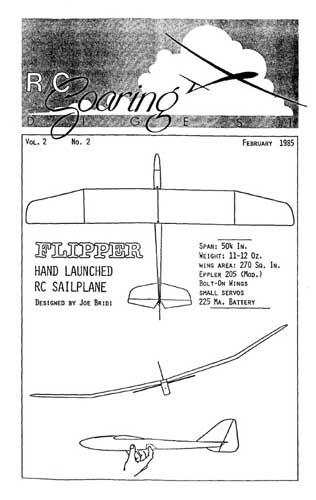 RC Soaring Digest 1985/02 February (RCL#2084)