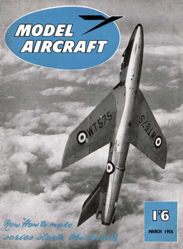 Model Aircraft 1956/03 March - cover thumbnail