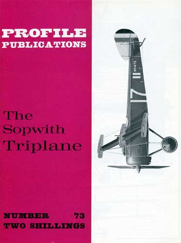 Profile Publications No. 073: Sopwith Triplane