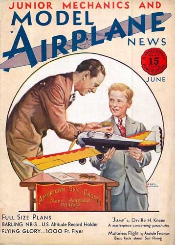 Model Airplane News 1930/06 June (RCL#2108)