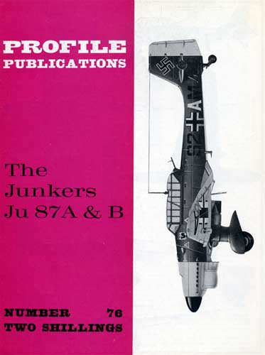 Profile Publications No. 076: Junkers Ju 87A & B - cover thumbnail