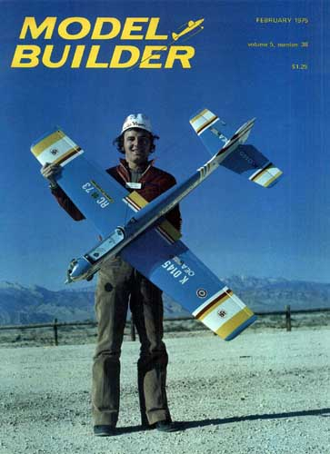 Model Builder 1975/02 February - cover thumbnail