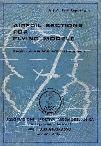 Airfoil Sections for Flying Models/ Profili Alari per Modelli Volanti