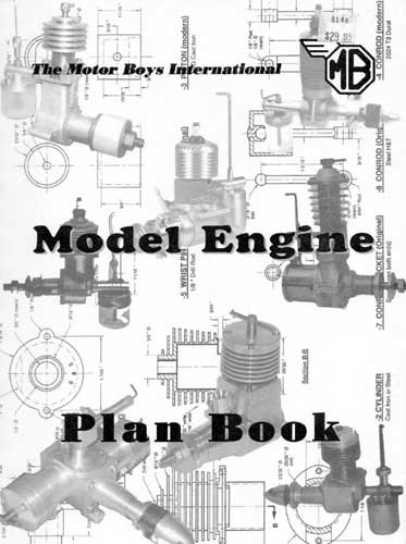 Motor Boys International Model Engine Plan Book - cover thumbnail