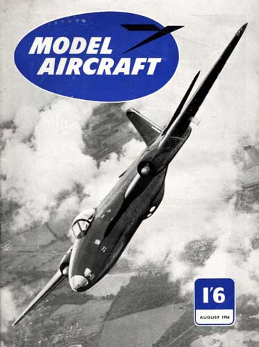 Model Aircraft 1956/08 August - click to view RCLibrary page