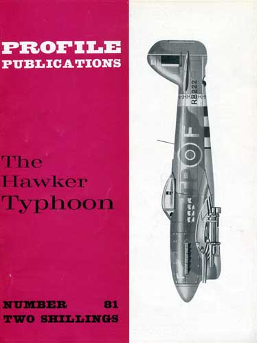 Profile Publications No. 081: Hawker Typhoon - click to view RCLibrary page