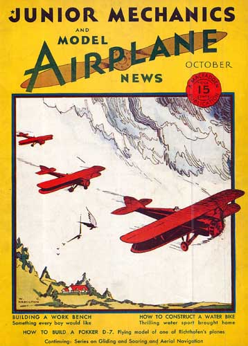 Model Airplane News 1930/10 October - cover thumbnail