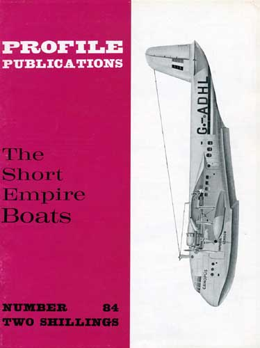 Profile Publications No. 084: Short Empire Boats - cover thumbnail