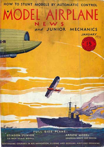 Model Airplane News 1931/01 - cover thumbnail