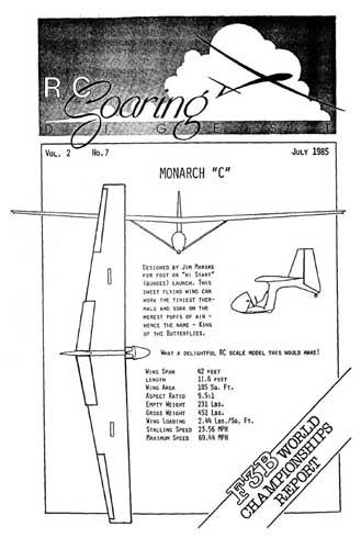 RC Soaring Digest 1985/07 July (RCL#2187)