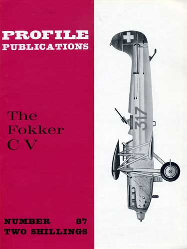 Profile Publications No. 087: Fokker C V - cover thumbnail