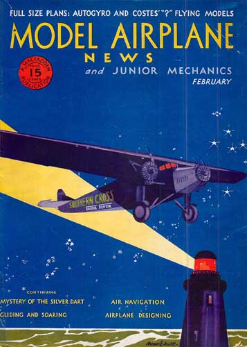 Model Airplane News 1931/02 February - cover thumbnail