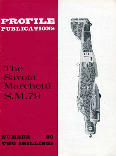 Profile Publications No. 089: Savoia Marchetti S.M.79 - cover thumbnail