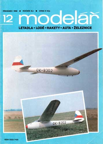 Modelar 1990/12 December - click to view RCLibrary page