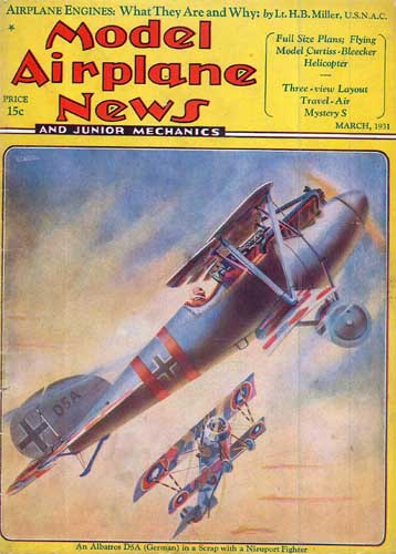Model Airplane News 1931/03 March (RCL#2212)