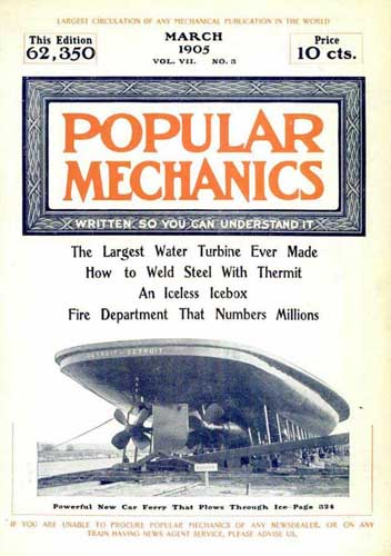Popular Mechanics 1905/03 March - cover thumbnail