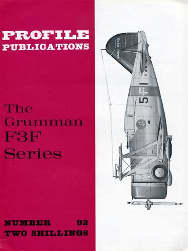 Profile Publications No. 092: Grumman F3F Series - cover thumbnail