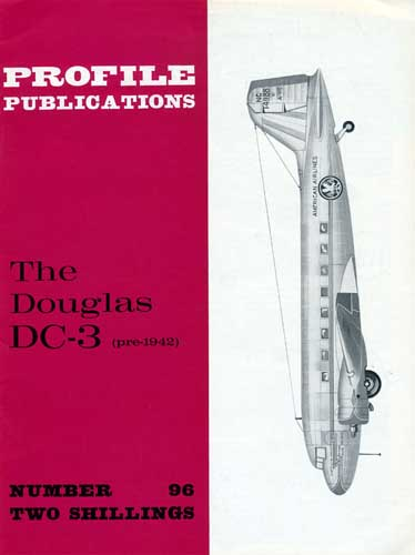 Profile Publications No. 096: Douglas DC-3 (pre-1942) - cover thumbnail