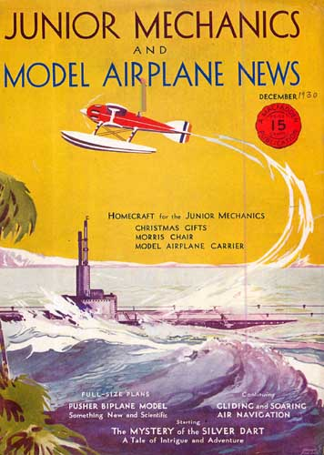 Model Airplane News 1930/12 December - click to view RCLibrary page