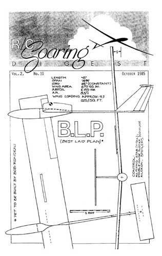 RC Soaring Digest 1985/10 October (RCL#2273)