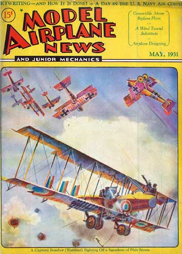 Model Airplane News 1931/05 May (RCL#2277)