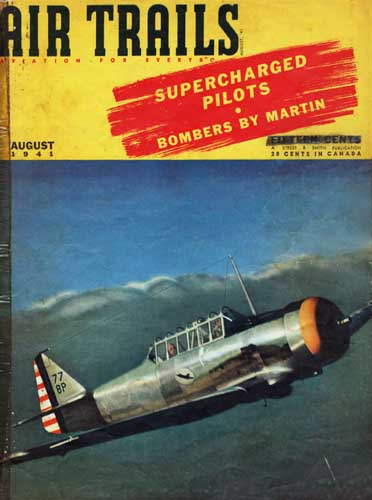 Air Trails 1941/08 August - cover thumbnail