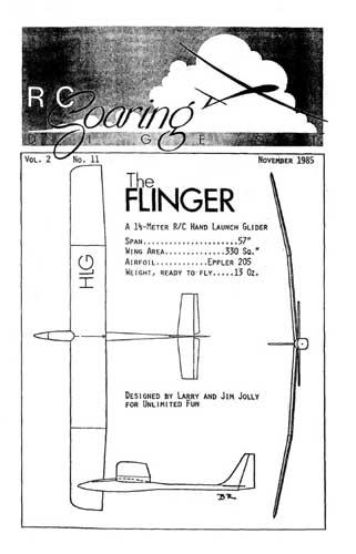 RC Soaring Digest 1985/11 November (RCL#2292)