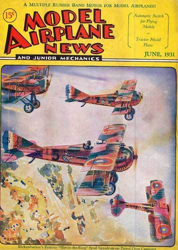 Model Airplane News 1931/06 June (RCL#2306)