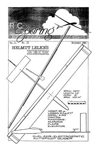 RC Soaring Digest 1985/12 December (RCL#2307)