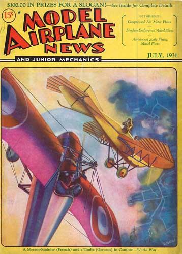 Model Airplane News 1931/07 July (RCL#2314)