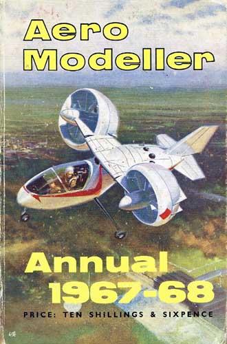 AeroModeller Annual 1967-68 - cover thumbnail