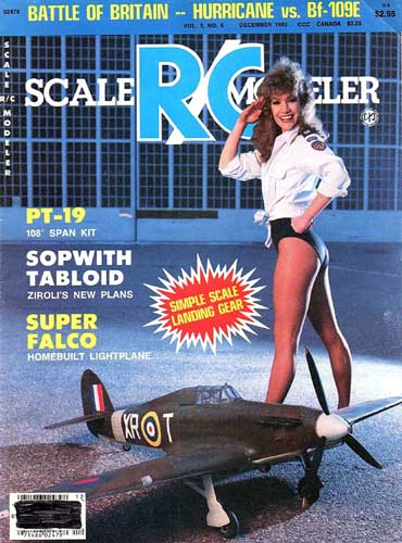 Scale R/C Modeler 1983/12 December - cover thumbnail