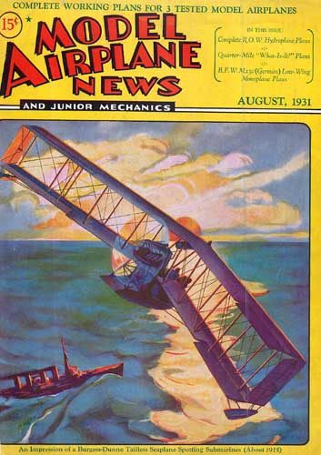 Model Airplane News 1931/08 August (RCL#2326)