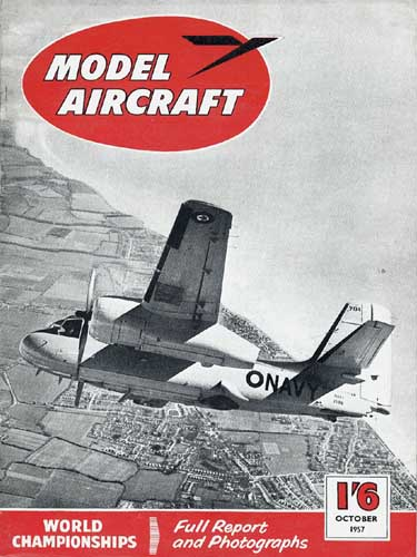 Model Aircraft 1957/10 October - cover thumbnail