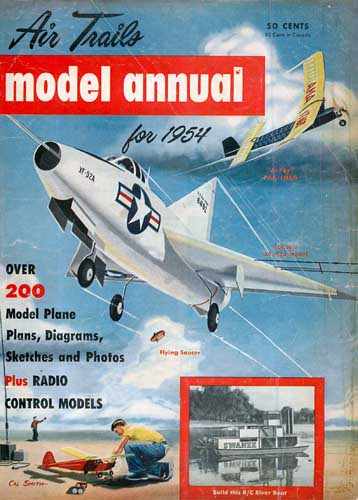 Air Trails Annual 1954