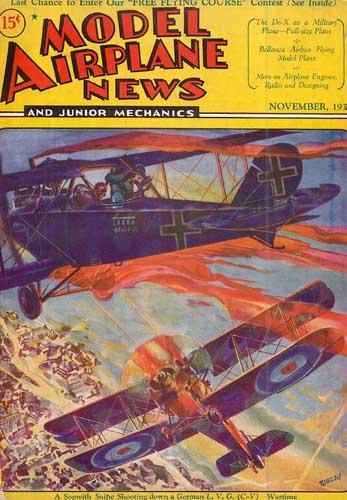 Model Airplane News 1931/11 November (RCL#2353)