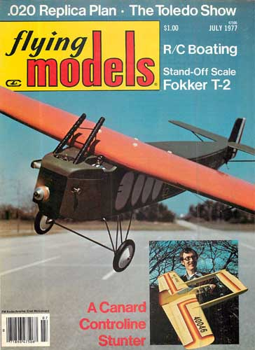 Flying Models 1977/07 July - cover thumbnail