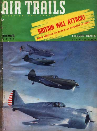 Air Trails 1941/12 December - cover thumbnail