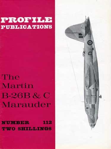 Profile Publications No. 112: Martin B-26B & C Marauder - click to view RCLibrary page