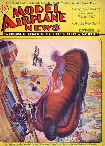 Model Airplane News 1931/12 December - cover thumbnail