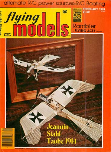 Flying Models 1978/02 February - cover thumbnail