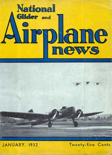 National Glider & Airplane News 1932/01 January (RCL#2391)