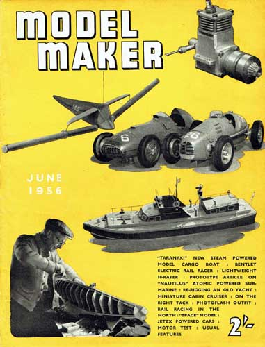 Model Maker 1956/06 June - cover thumbnail
