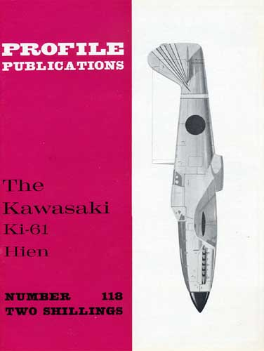 Profile Publications No. 118: Kawasaki Ki-61 Hien - cover thumbnail