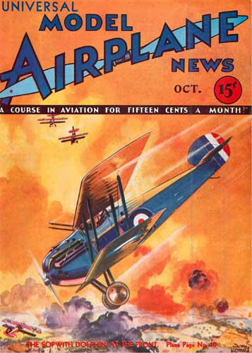 Model Airplane News 1932/10 October - cover thumbnail